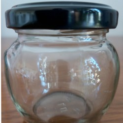 Pot cylindrique en verre